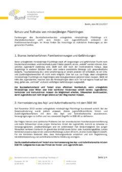 BumF-Positionspapier zum Kinder- und Jugendhilferecht