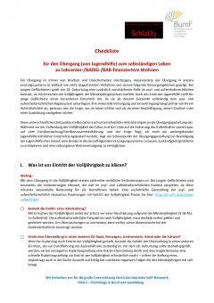 2018_10_17_Lange Checkliste fuer den Uebergang ins Erwachsenenleben